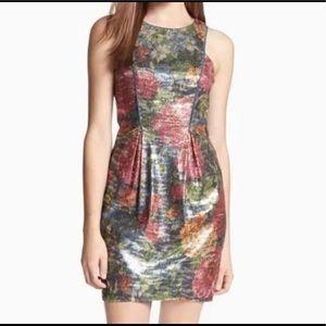 Jessica Simpson Indigo Multicolor sequin dress
